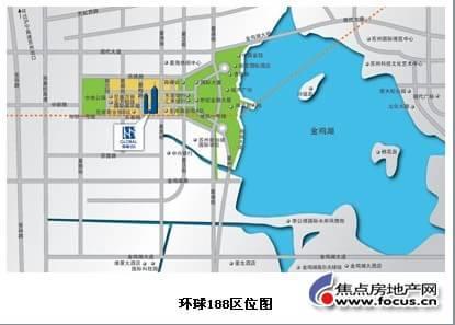 苏州工业园区星海小学手绘地图