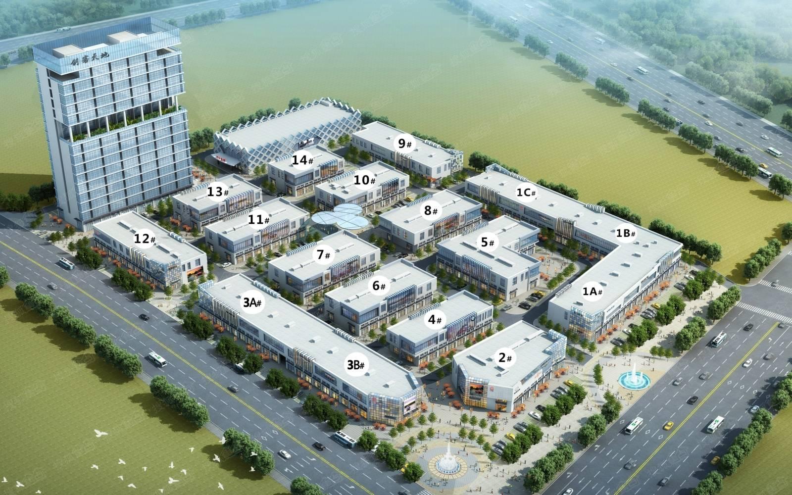 路能达(秦皇岛)国际汽车文化创意产业园位于开发区龙海道与祁连山北
