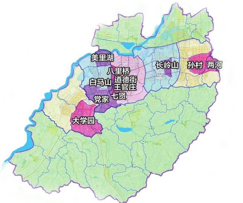 片区内的济青,京福高速公路连接线与二环西路相交处设互通立交,规划与