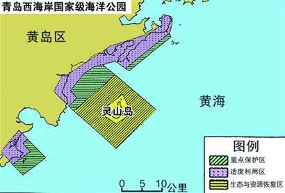 西海岸获批建立海洋公园 青岛首例